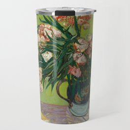 Oleanders by Vincent Van Gogh, 1888 Travel Mug