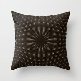 Field Rift Throw Pillow