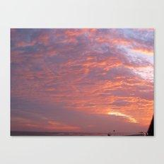 Galveston Sunset I Canvas Print