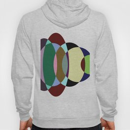 Pastel Meditation - Pastel coloured, relaxing, calming, abstract, elliptical interactions Hoody