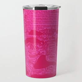 Mao Pink Travel Mug