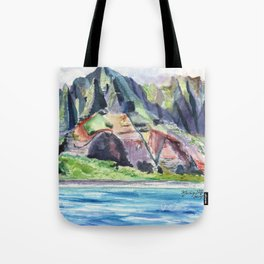 Majestic Na Pali Coast Tote Bag