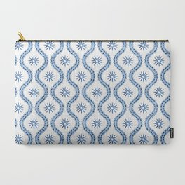 Whimsical watercolor snowflakes Carry-All Pouch