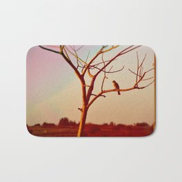 What Good Are Wings Without the Courage To Fly Bath Mat
