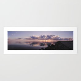 Sunrise On The Bay - Panoramic Art Print