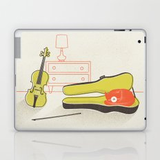 Cat & Violin Laptop & iPad Skin