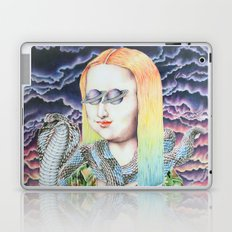 Mona Lisa and the Love Snake Live to Party Laptop & iPad Skin