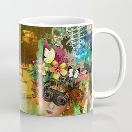 Red Barron Watercolour Coffee Mug