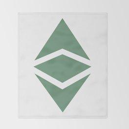 Ethereum Classic (ETC) Logo Throw Blanket