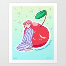 Cherry Boy Art Print