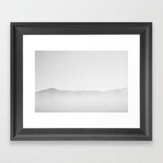 Tranquillity sea Framed Art Print