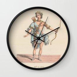 Delpech Francois Seraphin Mlle Lazy role de lAmour dans EgleAdditional Costumes de theatre de a Wall Clock