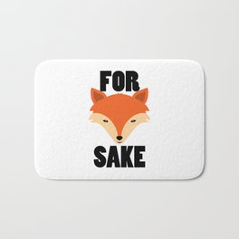 FOR FOX SAKE Bath Mat