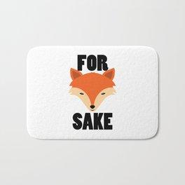 FOR FOX SAKE Bath Mat