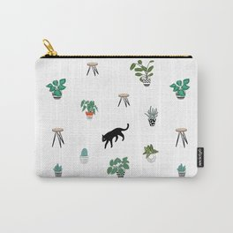 cats and pots pattern Carry-All Pouch