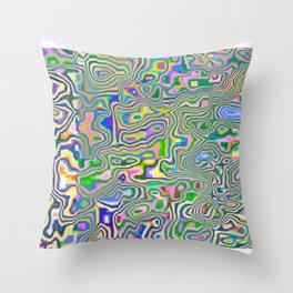 solar dance Throw Pillow
