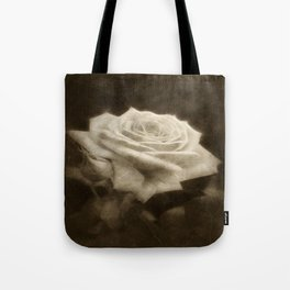 Pink Roses in Anzures 3 Antiqued Tote Bag