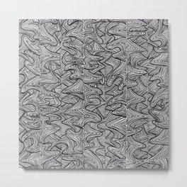 Raw Pattern (two) Metal Print