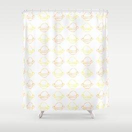 Saturn Shower Curtain