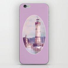 Lighthouse at Lindau, Lake of Constance iPhone & iPod Skin