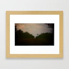 home /4 Framed Art Print