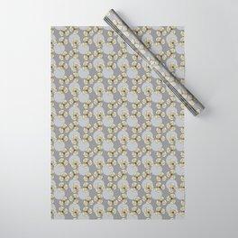MAYA - Grey & Yellow Wrapping Paper