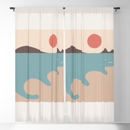 Cat Landscape 79 Blackout Curtain