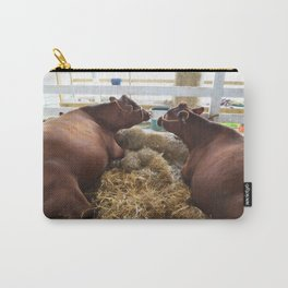 Pair of Cows Carry-All Pouch