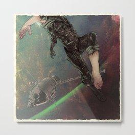 Bodies in Space: Ebullism Metal Print