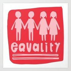 Equality Love II Art Print