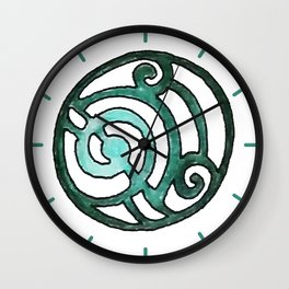 Green Design 7 Wall Clock
