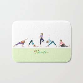 Yoga Girls_Poses_Robin Pickens Bath Mat