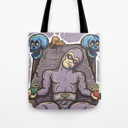 THE GHOST WHO SNACKS Tote Bag