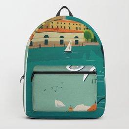 Vintage poster - Venice Backpack
