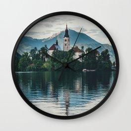 Lake Bled, Slovenia, 6 Wall Clock