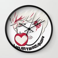 kpop Wall Clocks featuring Heartbreaker [G-Dragon] by Ruwah