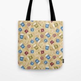 Cozy Mugs - Bg Macchiato Tote Bag