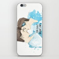 fault in our stars iPhone & iPod Skins featuring The Fault in Our Stars by Coconut Wishes