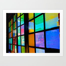 Life Reflected in Color Art Print