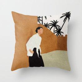 Backbone Throw Pillow