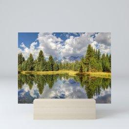 The Grand Tetons Panorama Mini Art Print
