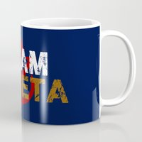 vegeta Mugs featuring Team Vegeta by AJF89
