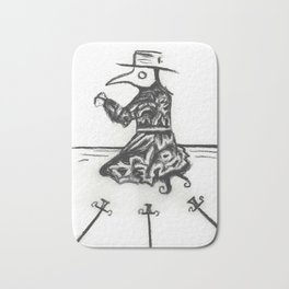Plague, Three of Swords Bath Mat