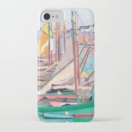 Albert Marquet - Le Port des Sables-d'Olonne iPhone Case