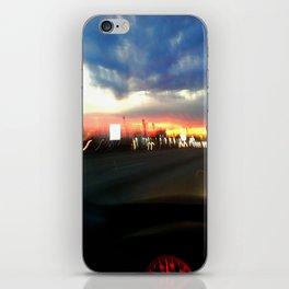 710 Lights iPhone Skin