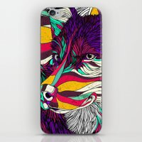husky iPhone & iPod Skins featuring Color Husky (Feat. Bryan Gallardo) by Danny Ivan