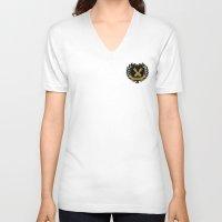 john green V-neck T-shirts featuring Nerdfighters DFTBA John, Hank Green by denise