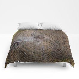 Tree Rings rustic decor Comforters