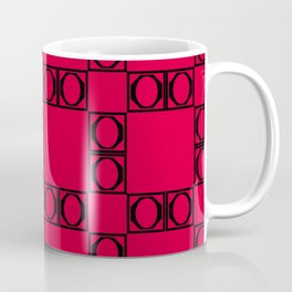 angle black & red Coffee Mug