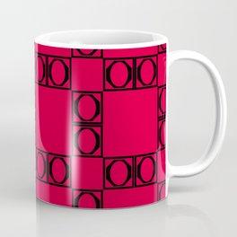 angle black & red Coffee Mug